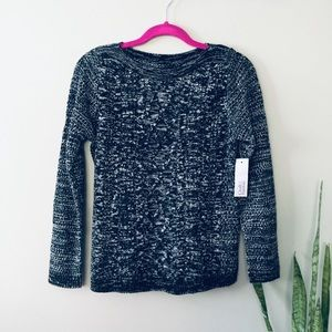 Croft & Barrow Cable Knit XS petite Heather NWT